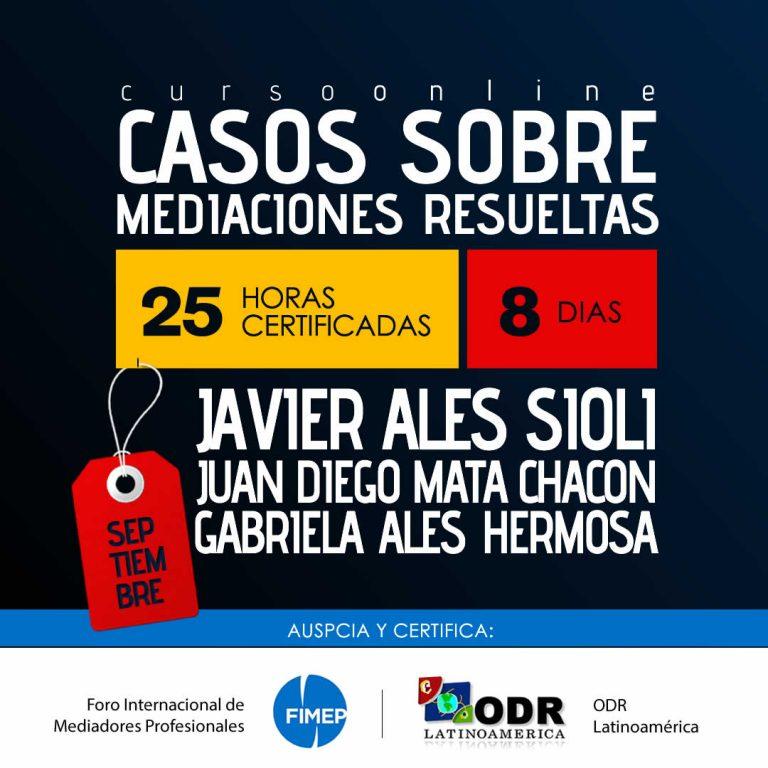 Casos Sobre Mediaciones Resueltas - ODR Latinoamérica