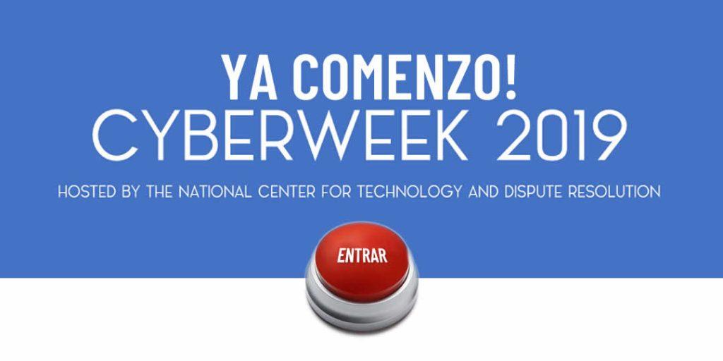 Cyberweek 2019 - Ya Comenzó - ODR Latinoamérica