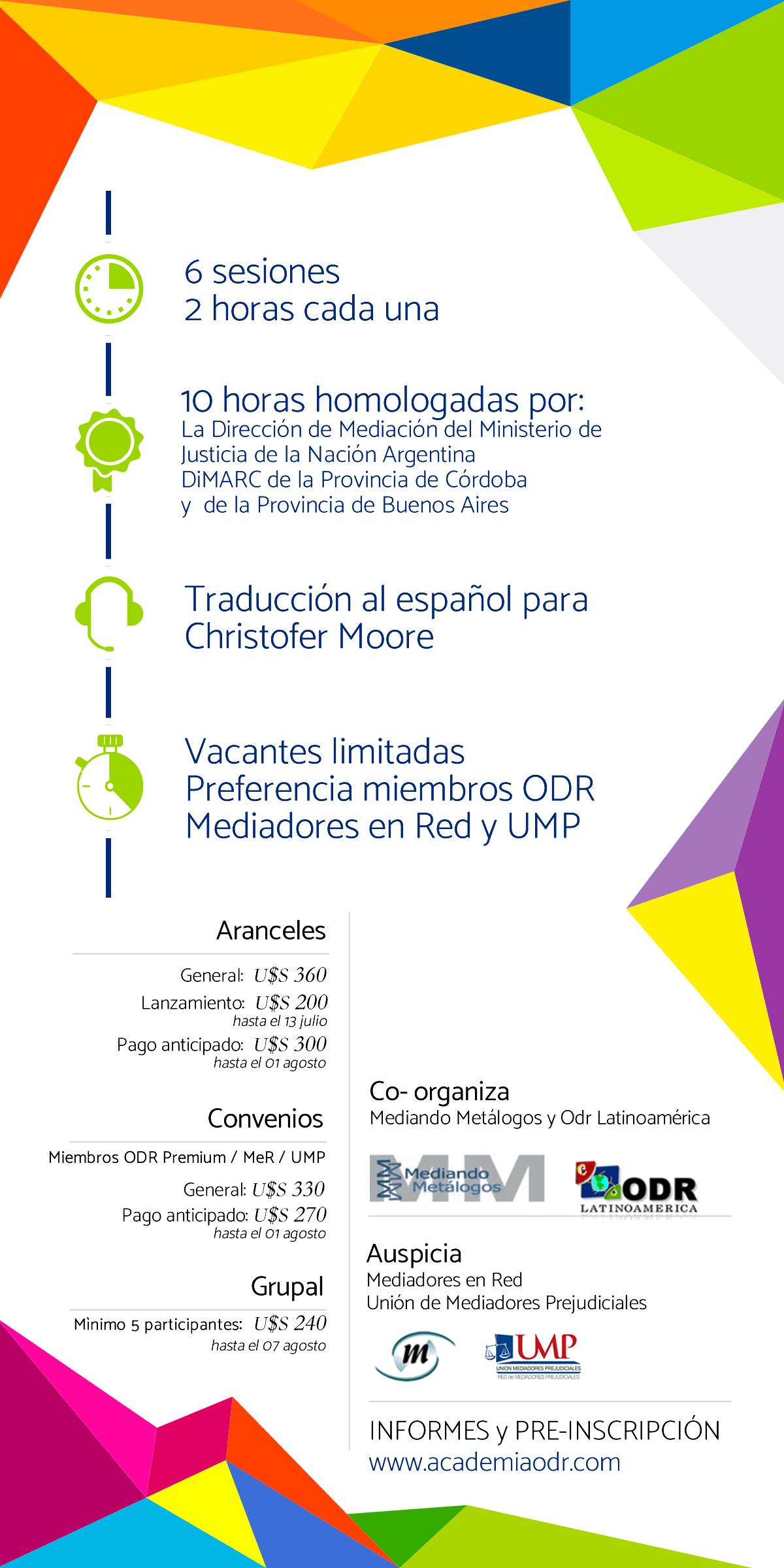Diálogo con Expertos 2017 - ODRLA