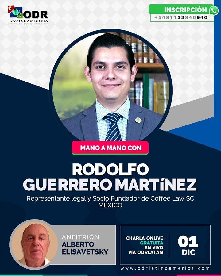 Mano a mano con Rodolfo Guerrero Martínez
